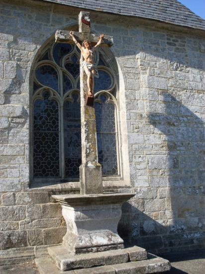Calvaire église Saint Cognogan Lanvenegen